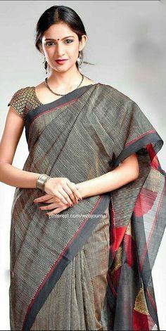 Simpleisallok Indian Look, Indian Ethnic Wear, Ethnic Sarees, Indian Sarees, Traditional Sarees, Traditional Dresses, Indian Attire, Indian Outfits, Indian Fashion Trends