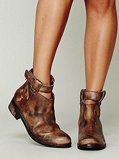 Bandit Ankle Boot - Free People-on Wanelo