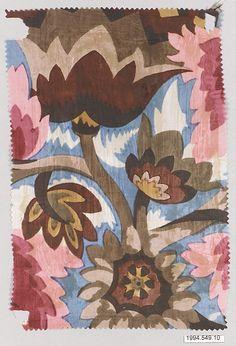Textile Sample  Wiener Werkstätte  Designer: Designer Unknown Date: 1910–28 Medium: Silk