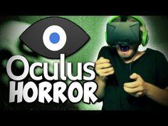 OCULUS RIFT HORROR REACTION! (Lost in the Rift)