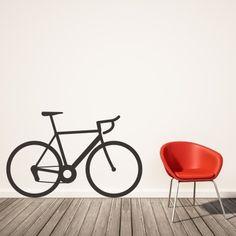 Adesivo Murale Bicicletta da Corsa | Stickers Murali