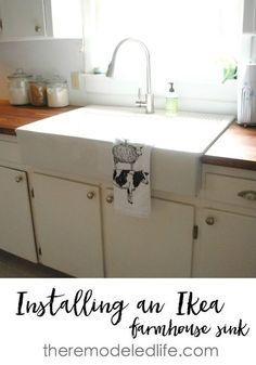 Superior Installing An Ikea Sink