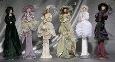 Victorian Tassel Dolls | GOLDEN KEEP.~TASSEL DOLL~ Lady Kaitlyn~ Flamanco Dancer
