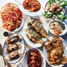 saveur does the traditional italian holiday dinner feast of the seven fishes - Italian Christmas Menu