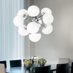 Morgana Suspension L& - Italian Lighting and Contemporary L&s & Luxury Euro Lighting the most innovative designer of modern lights ...