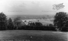 Muswell Hill, View From Alexandra Palace from Francis Frith Alexandra Palace, North London, North West, Old Photos, Country Roads, Places, Photography, Old Pictures, Fotografie
