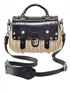 Picnic Basket Bags via @WhoWhatWear