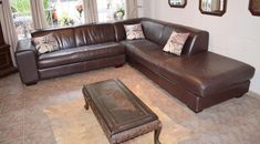 Stylish Coricraft Genuine Leather Corner Couch, L-Shaped Corner Unit, Good Condition, 0826245168 Decor, Furniture, Home, Redecorating, Corner Couch, Couches For Sale, Corner Unit, Couch