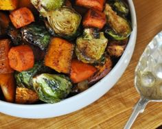 Spicy-Sweet Roasted Fall Vegetables Recipe