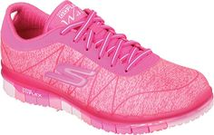 Skechers GO FLEX Walk Ability Sneaker - Hot Pink with FREE Shipping & Exchanges. The Skechers GO FLEX Walk™ - Ability is the shoe that moves with you. Knitted upper with