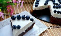 Zdravá čoko-tvaroh tortička bez múky - Fitshaker Cake, Fit, Recipes, Shape, Kuchen, Ripped Recipes, Torte, Cookies
