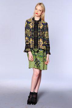 Anna Sui | Resort 2013 Collection | Vogue Runway