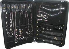 Jewellery portfolio binder