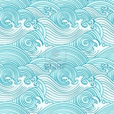 Google Image Result for http://us.123rf.com/400wm/400/400/sahua/sahua1104/sahua110400015/9447976-japanese-seamless-waves-pattern-in-ocean-colors.jpg