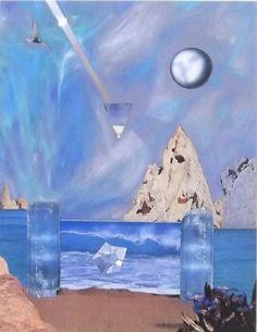 野中ユリ「夢の地表Ⅵ-エメラルドの門」