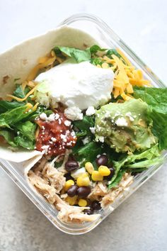Slow Cooker Bajio Chicken Salad | Six Sisters' Stuff