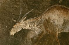 Drakensberg South Africa. - Cave paintings