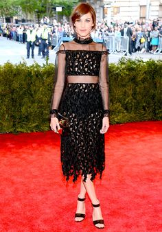 Met Gala 2013: Celebrity Costume Ball Red Carpet: Alexa Chung