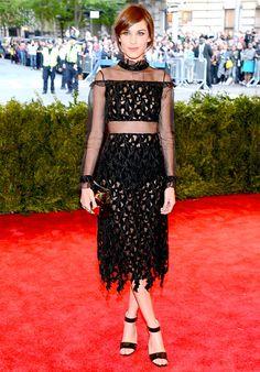 Met Gala 2013: Celebrity Costume Ball Red Carpet: Alexa Chung