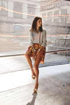 Leandra Medine | LOVE her outfit. Love.