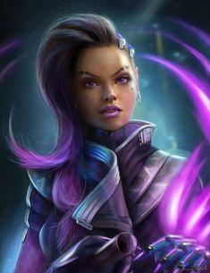 Sombra - Overwatch | Jorsch on DeviantArt