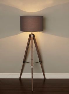 standing lamps for living room. BHS // Illuminate Harley Tripod Floor Lamp Industrial Wooden Antique Style Light (where Is The Cord? Standing Lamps For Living Room
