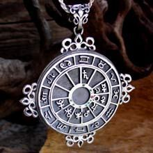 talisman with zodiac signs and david star reverse - Căutare Google