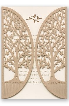 Love is Tweet Wedding Invitation by David's Bridal