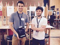 Arthur et Jean-Thibault présentent la solution GuestViews au festival Futur en Seine 2016