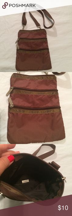 LeSportsac small crossbody Not new but in good condition LeSportsac Bags Crossbody Bags