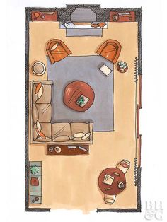 Stuck in a decor rut? Use our top furniture layout ideas to rearrange your livin… Stuck in a decor rut? Use our top furniture layout ideas to rearrange your living room and create a comfortable, welcoming environment. Living Room Arrangements, Living Room Furniture Arrangement, Living Room Furniture Layout, Living Room Designs, Bedroom Furniture, Furniture Ideas, Furniture Stores, Living Room Layouts, Country Furniture