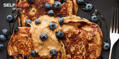 Blueberry Greek Yogurt Pancakes