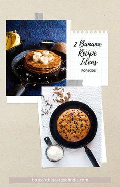 Healthy Banana Recipe Ideas for you to make this weekend!!! #bananacake #pancake #banana #cake #healthy #thetastesofindia