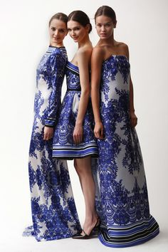 See the complete Naeem Khan Pre-Fall 2015 collection.
