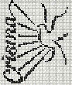 Cross Stitch Books, Filet Crochet, Embroidery Stitches, Garden, Religious Pictures, Punto De Cruz, Dots, Rosario, Branding