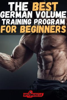 The Best German Volume Training Program for Beginners, is perfect for those weight training enthusiasts looking for an intense bodybuilding workout. Gym Workouts For Men, Workout Plan For Men, Workout Plan For Beginners, Fun Workouts, Workout Plans, Workout Exercises, Workout Challenge, Weight Training Programs, Weight Training Workouts