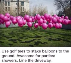 Love this idea for a baby shower or even a birthday party!