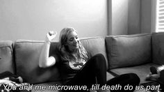 Hahaha Jenna marbles perfectly describes the relationship with my dorm microwave :)