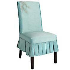 I think I will do a slipcover on my chairs instead of trying to paint and redo the cushion since some of the rungs are missing!! Should be easy enough - I've watched Trading Spaces enough times! LOL