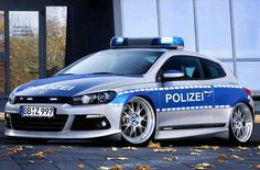 Police VW Scirocco