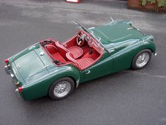 Triumph TR3 Triumph Tr3, Triumph Spitfire, Triumph Motorcycles, British Sports Cars, Classic Sports Cars, Classic Cars, British Car, Sexy Cars, Hot Cars