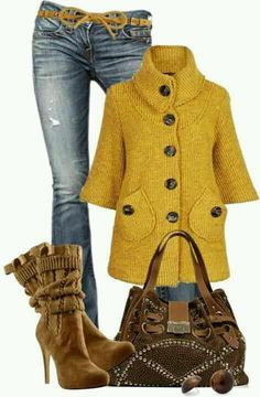 Casual outfit (Personal preference: skip the stiletto, pokey heel…) Fall Winter Outfits, Autumn Winter Fashion, Look Fashion, Fashion Outfits, Fashion Trends, Fashion Women, Fashion Tips, Modelos Fashion, Cooler Look
