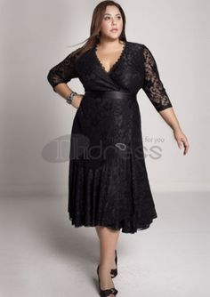 Plus Size Evening Dresses-plus size evening dress Carmella Lace Dress