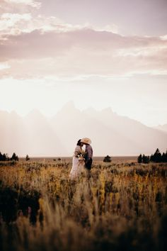 Destiny + Kyle's elopement, captured by Jasmine Mallo Imagery, at the Grand Tetons in Wyoming is intimate and personal instead of a large wedding. Elopement Inspiration, Estes Park, Rocky Mountains, Wyoming, Destiny, Jasmine, Monument Valley, Our Wedding, Wedding Planning