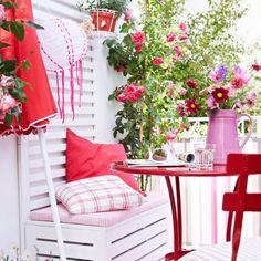 ▷ Balkon einrichten - Tipps & Ideen für jede Himmelsrichtung - [LIVING AT HOME]