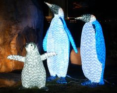 U.S. Bank Wild Lights at the Saint Louis Zoo! 5:30-8:30 p.m. Weekends, Nov. 23-Dec. 23 and nightly, Dec. 26-30, 2012.