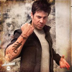 """https://twitter.com/LibrariansTNT/status/822201999789654017 1-19-2017 #TheLibrarians #JakeStone aka Christian Kane.. off of twitter @LibrariansTNT.. and their facebook.. """"The New Jacob Stone"""""""