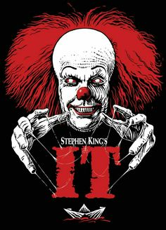 IT movie poster horror