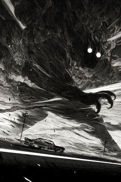 Nicolas Delort – Scratch Board Illustrations