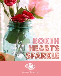 Bokeh Hearts sparkle up your photos